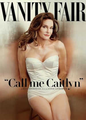 Caitlyn Jenner in the cover of Vanity Fair Magazine